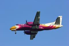 ็HS-GBG绅宝Nokmini航空公司340  免版税库存图片