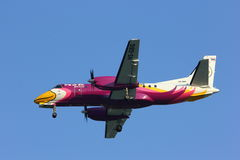 �HS-GBG Saab 340 of Nokmini airline Royalty Free Stock Image