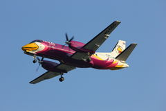 �HS-GBG Saab 340 of Nokmini airline Stock Photo
