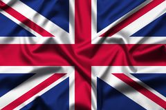 ‎Kingdom of Great Britain flag royalty free stock photo