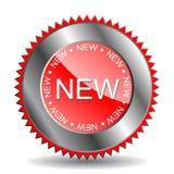 '新的'标签(向量) 库存例证