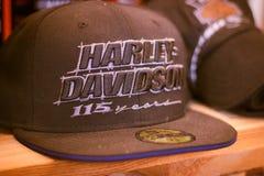 'Acontecimiento de la casa abierta 'de Harley Davidson en Italia: presentación de la ropa fotos de archivo libres de regalías