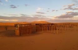 'Alojamiento en Sáhara - 'novedad ' fotos de archivo