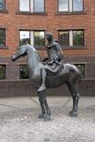 'Cavaleiro Cloaked 'por David Backhouse imagens de stock