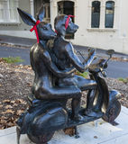 'It Takes Two' by Gillie and Marc. Paddington. Australia. Stock Photos