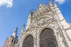 's斯海尔托亨博斯的圣约翰在荷兰 免版税库存照片