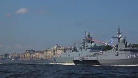 'Sovetsk '- um projeto pequeno 22800 Karakurt do navio do foguete St Petersburg filme