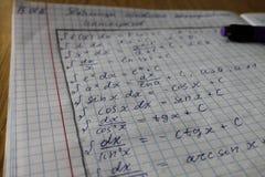 'ика/Mathematics del ¼ Ð°Ñ del 'Ð?Ð de ÐœÐ°Ñ Imagenes de archivo