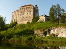'De Pieskowa SkaÅ um castelo foto de stock royalty free