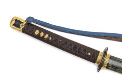'Kai Gunto ': Japanse Marine Sword From World War 2 royalty-vrije stock fotografie