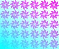 'Turbinenblumenhintergrund, Blumenmuster Abbildung ` stockfotografie