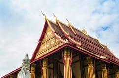 'Wat Ho Phakeo Temple 'is een Boeddhistische Archaïsch Plaats en een Één van Aantrekkelijk Oriëntatiepunt van Vientiane-Stad van  stock fotografie