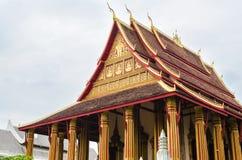 'Wat Ho Phakeo Temple 'is een Boeddhistische Archaïsch Plaats en een Één van Aantrekkelijk Oriëntatiepunt van Vientiane-Stad van  stock foto's