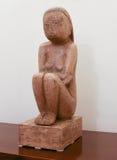 """""""地球的智慧""""由罗马尼亚雕刻家Constantin Brancusi 免版税库存照片"""