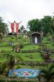"""登高的基督"" Kamay Ni Hesus寺庙的在Lucban 免版税库存照片"