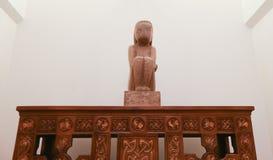 """""""A sabedoria da terra"""" pelo escultor romeno Constantin Brancusi Foto de Stock Royalty Free"""