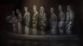 """""""Ces la rivière le Keeps par Geoffrey Laurence, montré dans le musée de l'art biblique à Dallas, le Texas images libres de droits"""