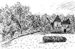 """""""Chambre ou château """" illustration de vecteur"""