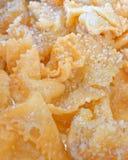 """diples παραδοσιακά ελληνικά γλυκά τηγανητά Χριστουγέννων, εορταστικό υπόβαθρο τροφίμων στοκ φωτογραφία"