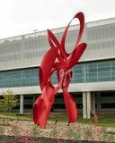 """""""Entreprise """"par Alexander Liberman, une partie du champ Art Collection d'amour à Dallas, le Texas images stock"""
