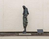 """""""Jean-Baptist """"par Gib Singleton en dehors du musée de l'art biblique à Dallas, le Texas photos libres de droits"""