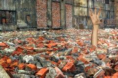 """""""Nella zona di trasgredire della costruzione"""" Fotografia Stock Libera da Diritti"""