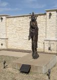 """""""Rachat """"par Gib Singleton dans le jardin de sculpture en Via Dolorosa du musée de l'art biblique à Dallas, le Texas image libre de droits"""