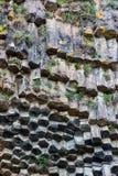 """""""Sinfonia das pedras"""" - Garni, Armênia Fotos de Stock"""