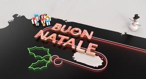 """""""Карта Buon Natale """" стоковая фотография"""