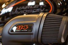 """""""Событие открытого дома """"Harley Davidson в Италии, новом FXDR 114 стоковые фотографии rf"""