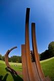 """""""Blickachsen de bienal de la escultura """" Foto de archivo"""