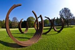 """""""Blickachsen de bienal de la escultura """" Fotografía de archivo libre de regalías"""