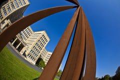 """""""Blickachsen de bienal de la escultura """"en Francfort  Imagen de archivo libre de regalías"""