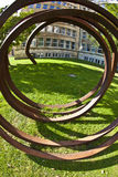 """""""Blickachsen de bienal de la escultura """"en Frankfurt-am-Main Imagenes de archivo"""