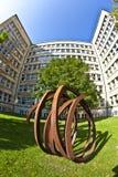 """""""Blickachsen de bienal de la escultura """"en Frankfurt-am-Main Imágenes de archivo libres de regalías"""