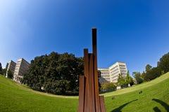"""""""Blickachsen de bienal de la escultura """"en Frankfurt-am-Main Fotos de archivo libres de regalías"""
