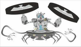"""""""Do â do robô do Cyborg da ficção científica – 2 ilustração stock"""