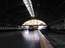 """""""Hua Lampong """"или главный ж-д вокзал в Бангкоке стоковое фото rf"""