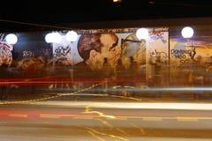 """""""Lichtgrenze"""" (helle Wand) Lizenzfreie Stockfotografie"""