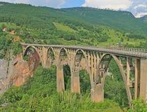 ‡ För eviÄ för ` för Ä-urÄ en bro, Tara Canyon, Zabljak, ‡ а för ² Ð¸Ñ för 'Д журÐ'жеРför  Ñ för ¾ Ñ för Ð-¼ Ð Arkivbilder