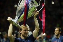 ‡ FC Barcelone Iwans RakitiÄ Lizenzfreies Stockfoto