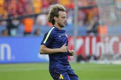 ‡ FC Barcelone Iwans RakitiÄ Stockbild