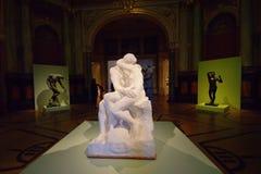 ‡ S Zagreb del troviÄ del ¡de Rodin In MeÅ fotografía de archivo