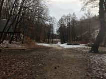 ‰ à gervölgy в зиме около ` gertetÅ ‰ à стоковые изображения rf