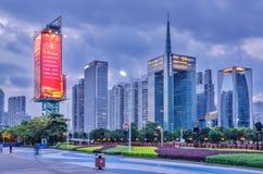 ‰ ¼ ˆCBDï ¼ Гуанчжоу Zhujiang новое Townï Стоковые Фотографии RF