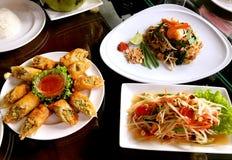 ‰ Asiático suroriental del ¼ del ˆthailandï del ¼ del ï de la comida imagen de archivo libre de regalías