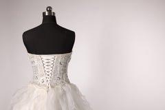 ‰ För ¼ för bandageï för ˆback för bröllopsklänningï¼, Arkivfoton