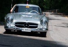 ‰ W 198 1955 SL COUPÃ МЕРСЕДЕС-BENZ 300 Стоковое Изображение RF