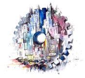 ‹Â€ ‹â€ города в движении бесплатная иллюстрация