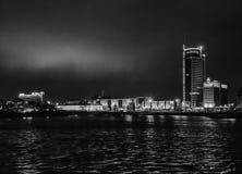 ‹Â€ ‹â€ города Минска, бульвара Pobediteley Стоковые Фотографии RF